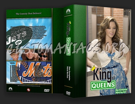 King Of Queens dvd cover