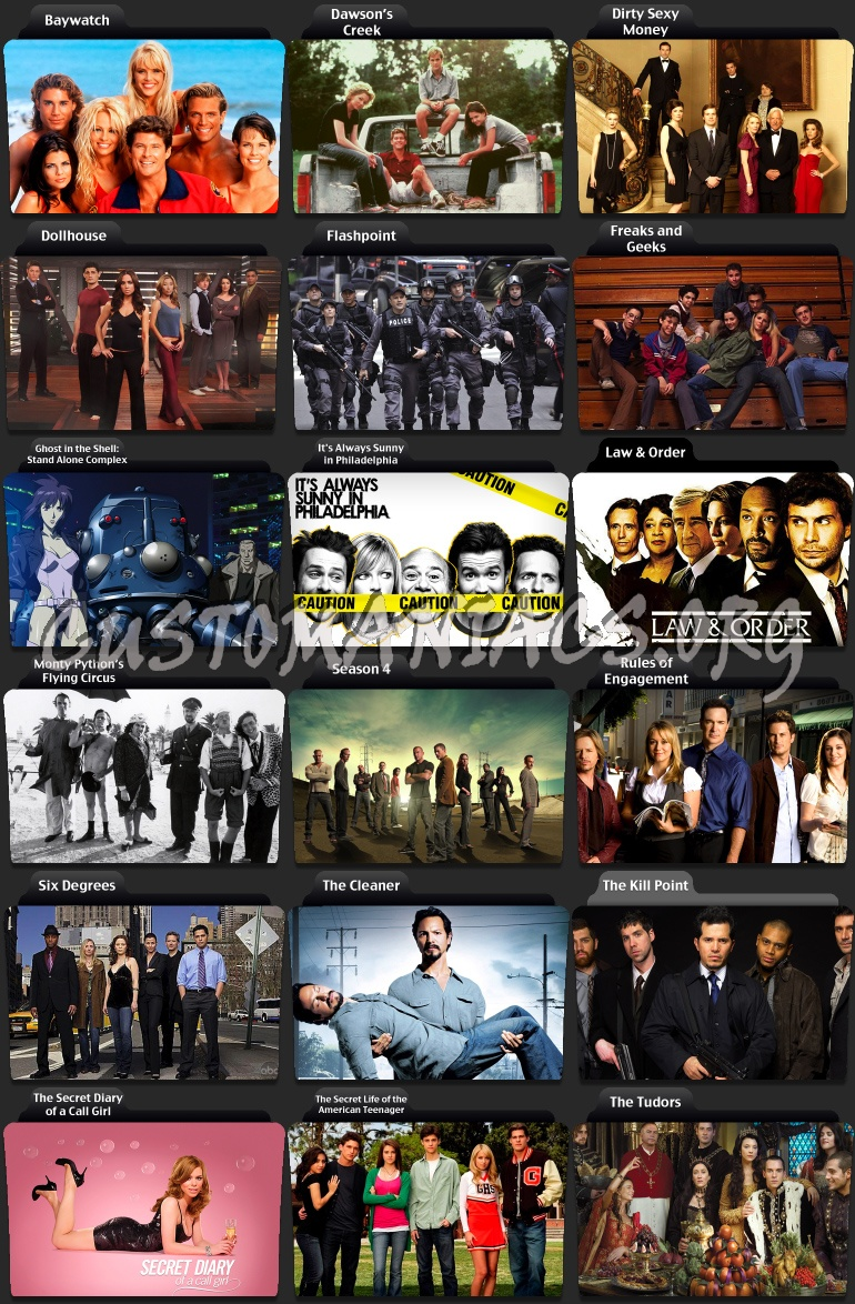 Tv Series Folder Icons D Dvd Covers Labels By Customaniacs Id 60071 Free Download Highres