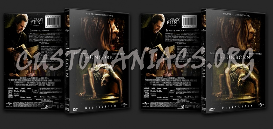 The Unborn dvd cover