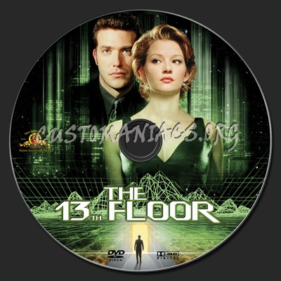 The 13th floor dvd label dvd covers labels by for 13th floor dvd