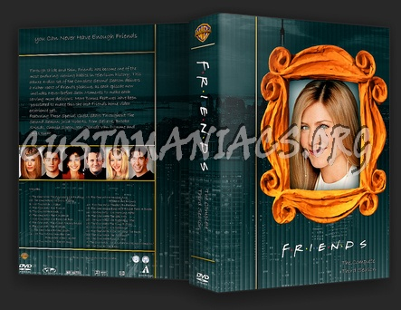 Friends dvd cover
