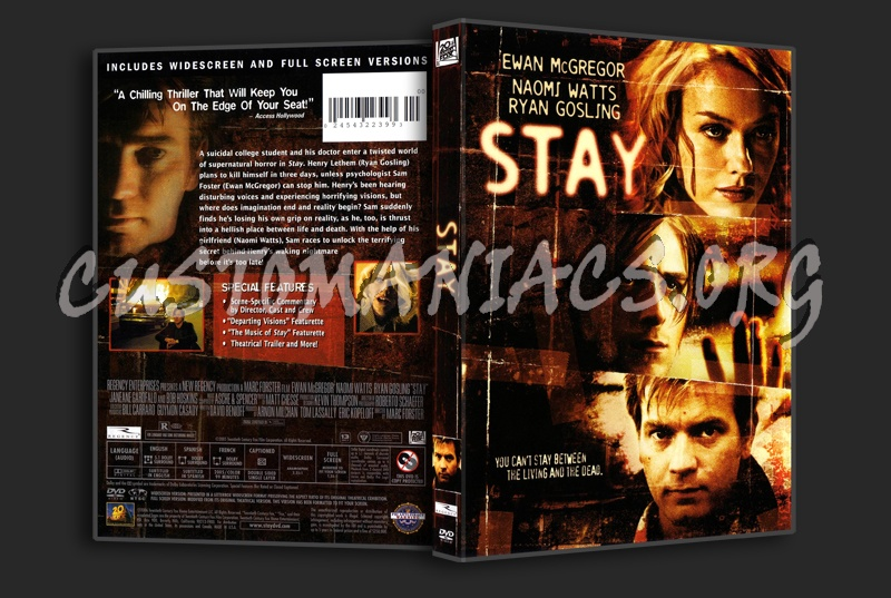Stay dvd cover