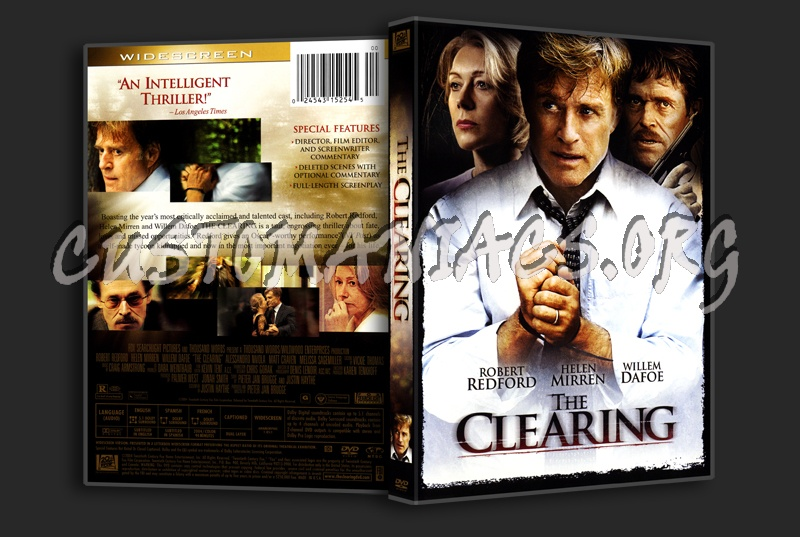 The Clearing dvd cover