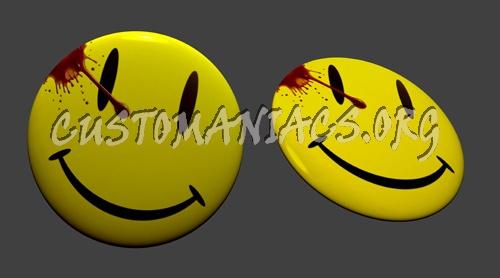 Watchmen Smiley PSD
