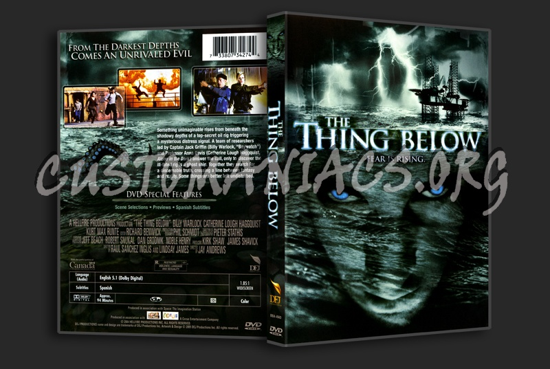 The Thing Below dvd cover