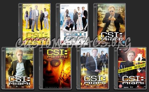 CSI Miami folder icons