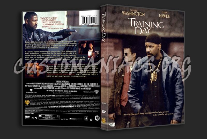 Training Day dvd cover - DVD Covers & Labels by ...