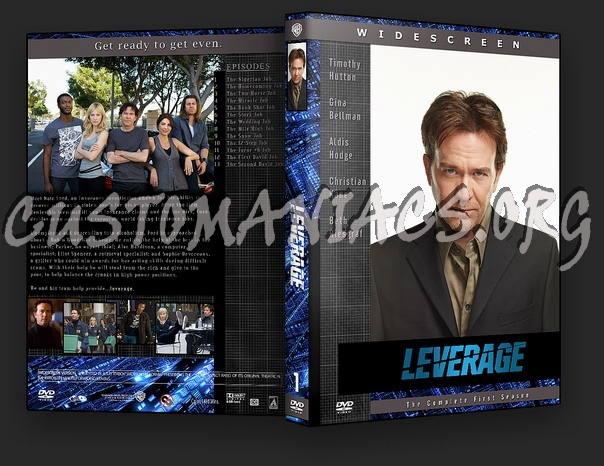 Leverage dvd cover