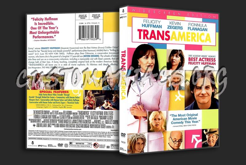 Trans America dvd cover