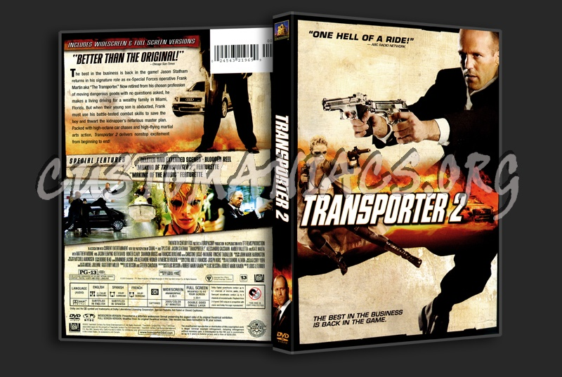 Transporter 2 | Movie fanart | fanart.tv |Transporter 2 Dvd Cover