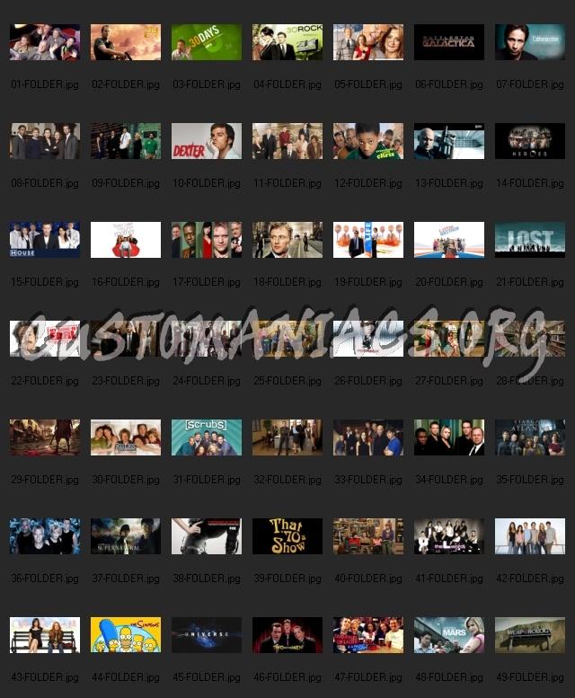 TV Series Folder icons