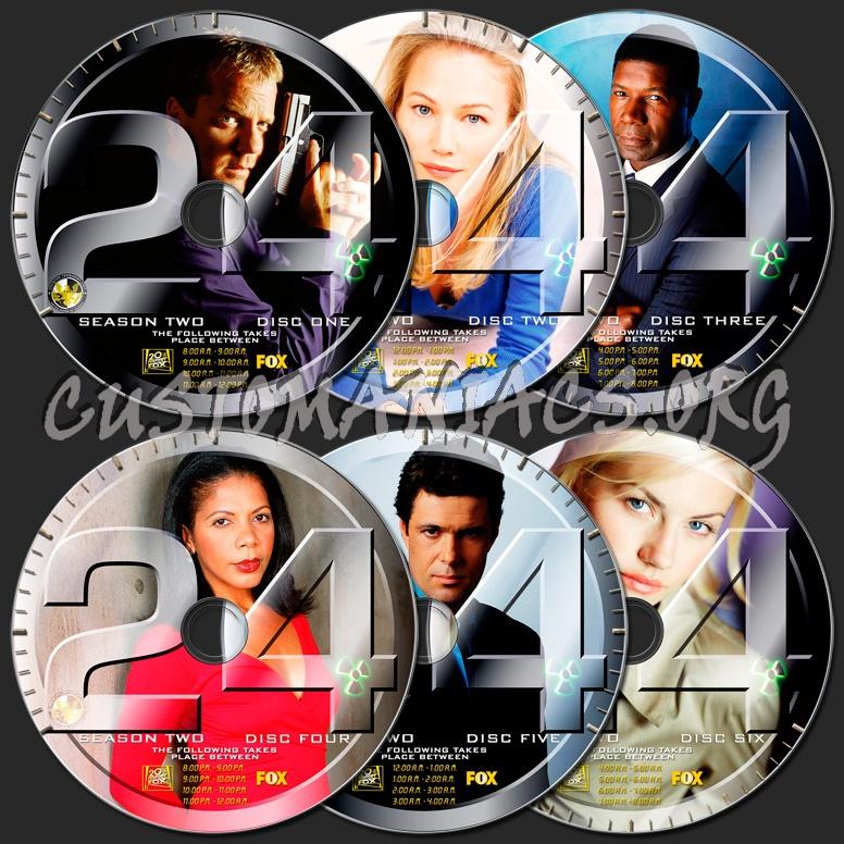 24 Season 2 dvd label