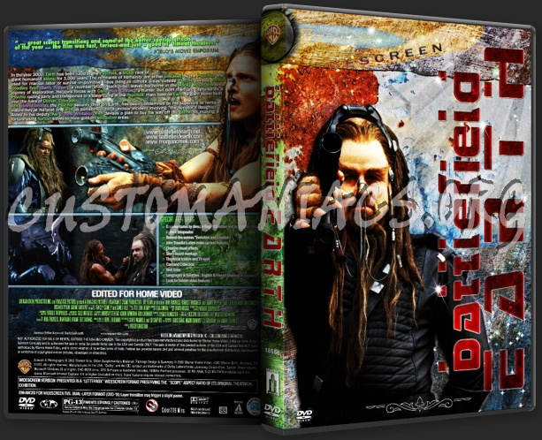 Battlefield Earth dvd cover