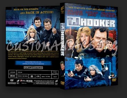 TJ Hooker dvd cover