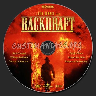 Backdraft dvd label