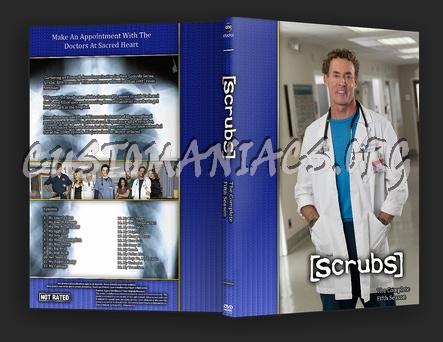 Scrubs dvd cover