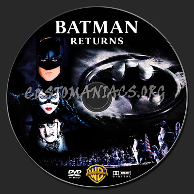 Batman Returns dvd label - DVD Covers & Labels by ...
