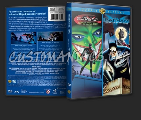 Batman Beyond Return OF The Joker / Batman Mystery Of The Batwoman dvd cover