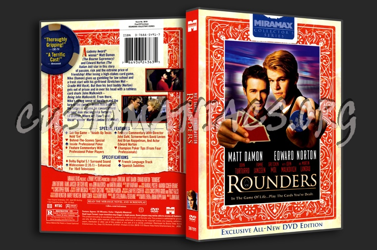 Rounders dvd cover