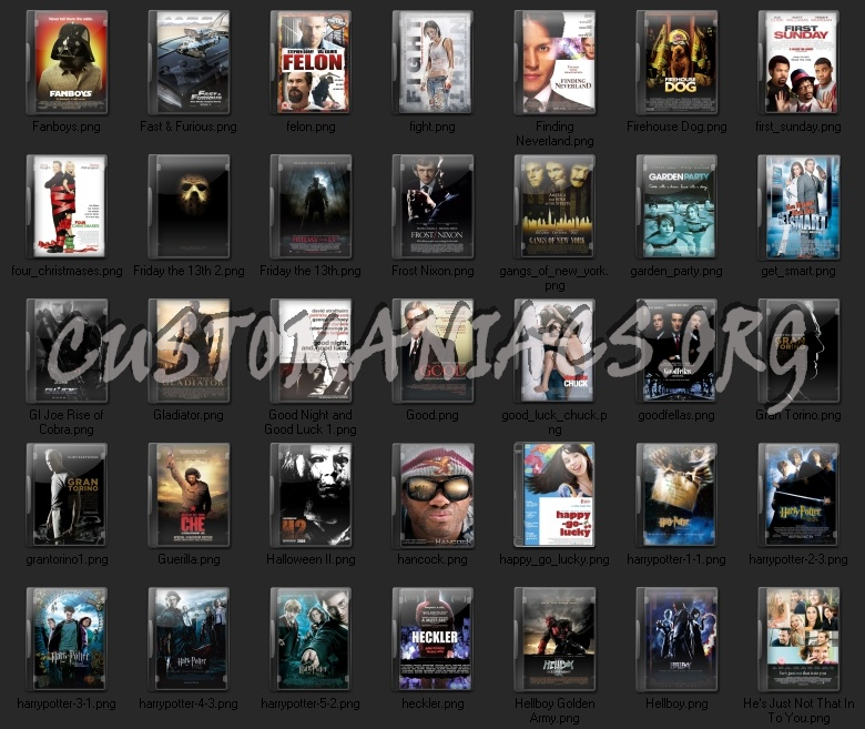 Miscellaneous Movie Folder icons