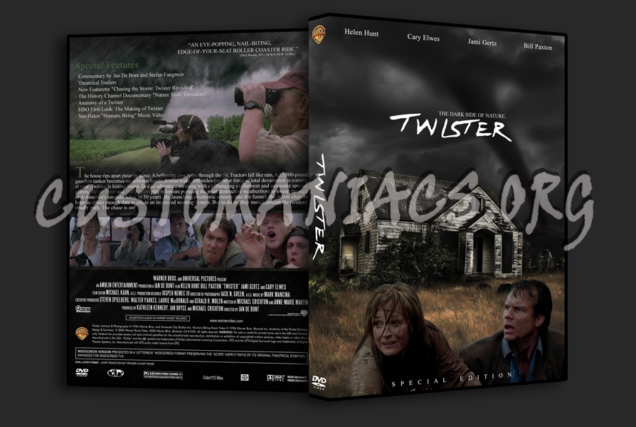 twister dvd cover dvd covers amp labels by customaniacs