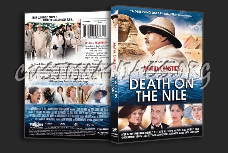 Agatha Christie's Death on the Nile dvd cover