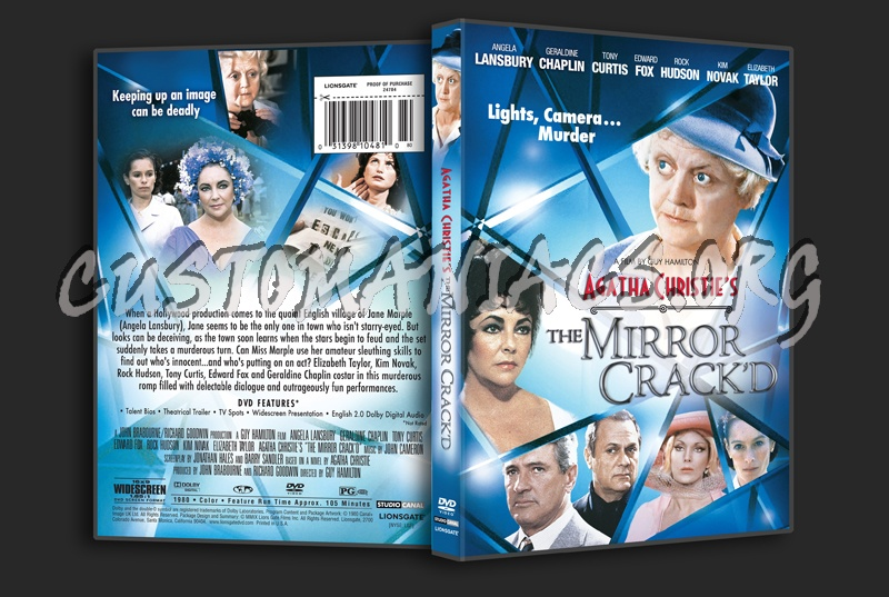 Agatha Christie's The Mirror Crack'd dvd cover