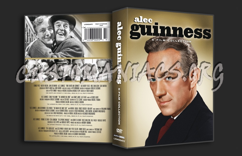 Alec Guinness 5 Film Collection dvd cover