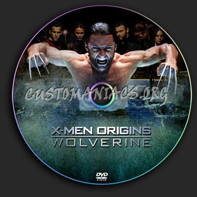 X-Men Origins - Wolverine dvd label