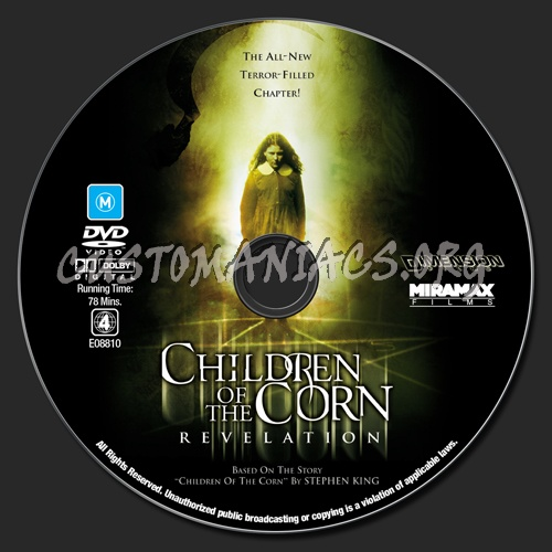 Children Of The Corn 7 - Revelation dvd label