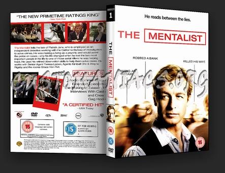 The Mentalist Season 1 dvd cover