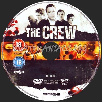 The Crew dvd label