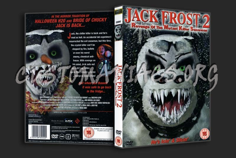 Jack Frost 2 Jack Frost 2 Dvd Cover