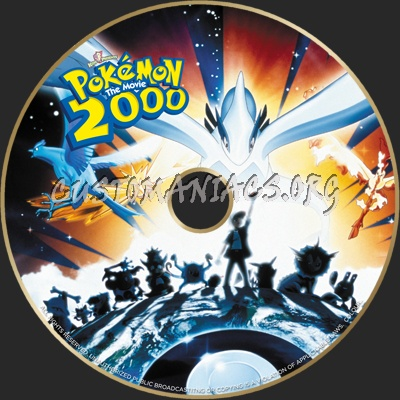 Pokemon The Movie 2000 Dvd Label Dvd Covers Labels By