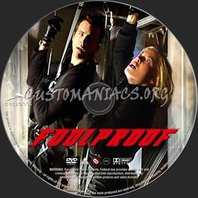 Foolproof dvd label