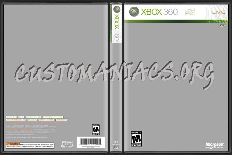 XBOX 360 Cover dvd label