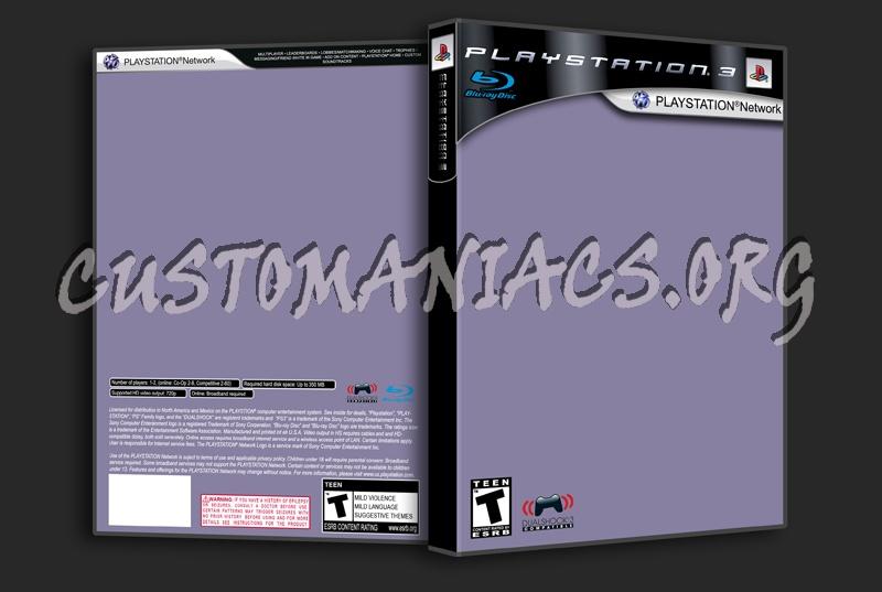Playstation3/Playstation Network dvd label