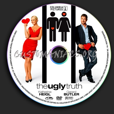 The Ugly Truth dvd label