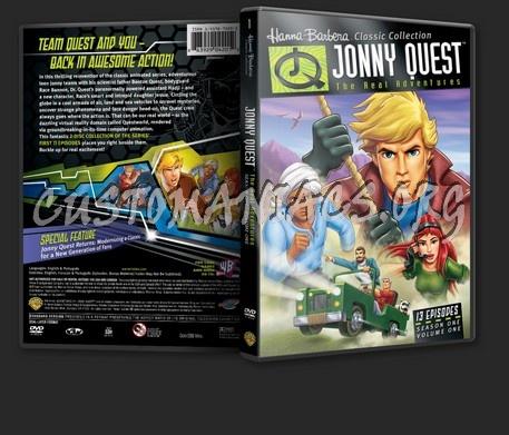 Jonny Quest The Real Adventures Season 1 Volume 1 dvd cover