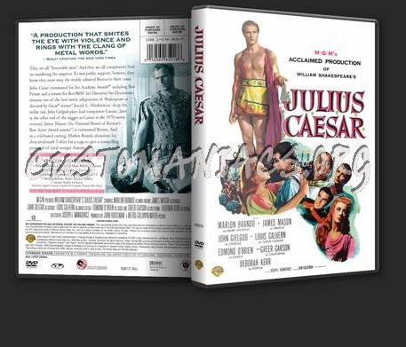 Julius Caesar (1953) dvd cover