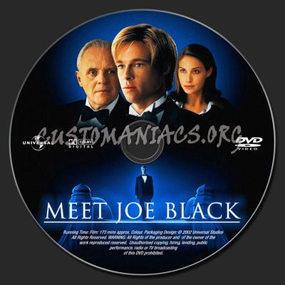 meet joe black dvd label