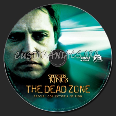 The Dead Zone dvd label