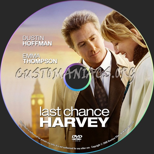 Last Chance Harvey dvd label