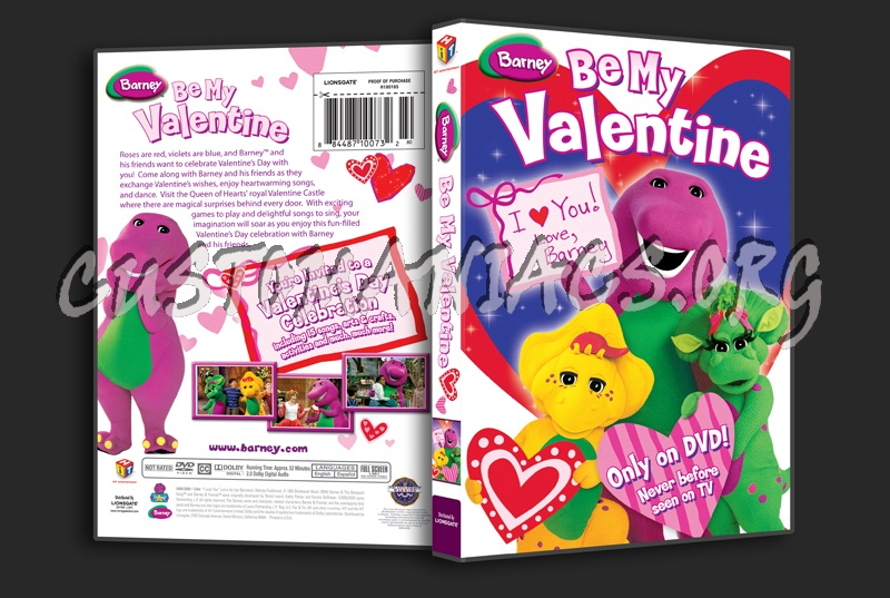 Barney: I Love My Friends Dvd Cover Images