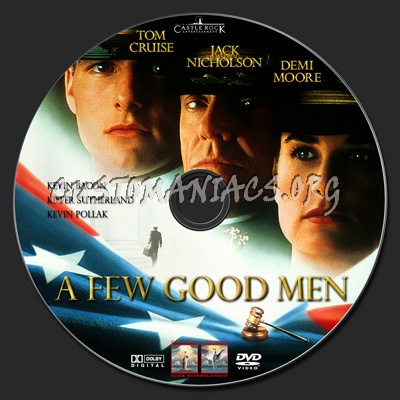 A Few Good Men dvd label