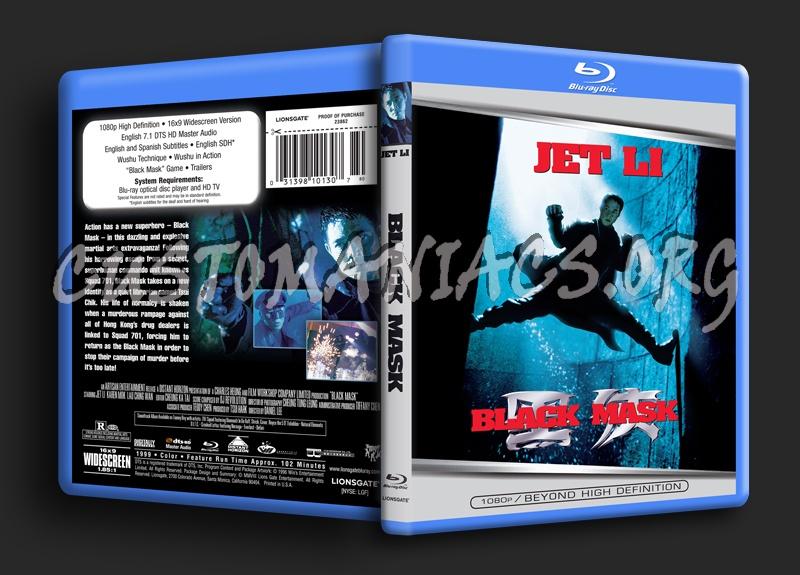 Black Mask blu-ray cover