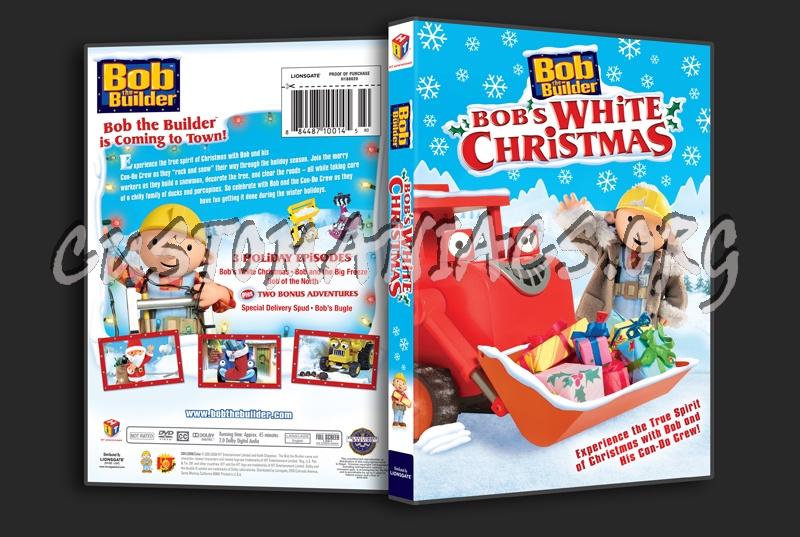 bob the builder bobs white christmas dvd cover
