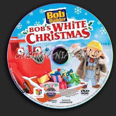 bob the builder bobs white christmas dvd label