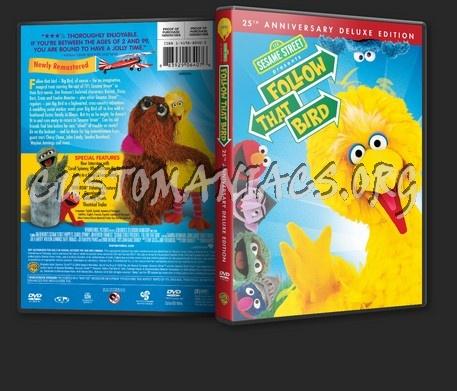 Sesame Street Presents: Follow that Bird dvd cover