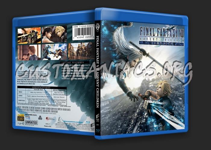 Final Fantasy VII Advent Children blu-ray cover